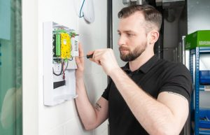 Access control install